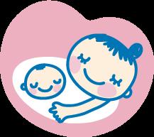 お腹の中に赤ちゃんがいます 妊娠マーク