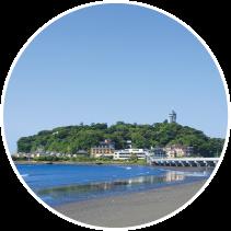 江の島の風景