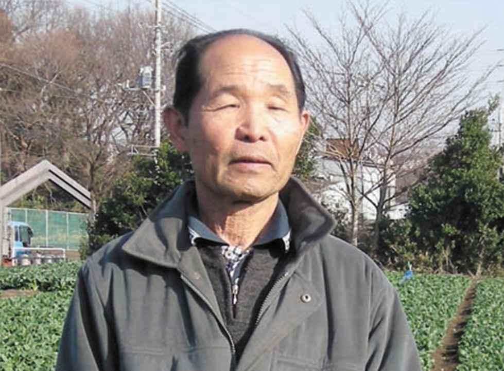 和泉町の横山保宣さん