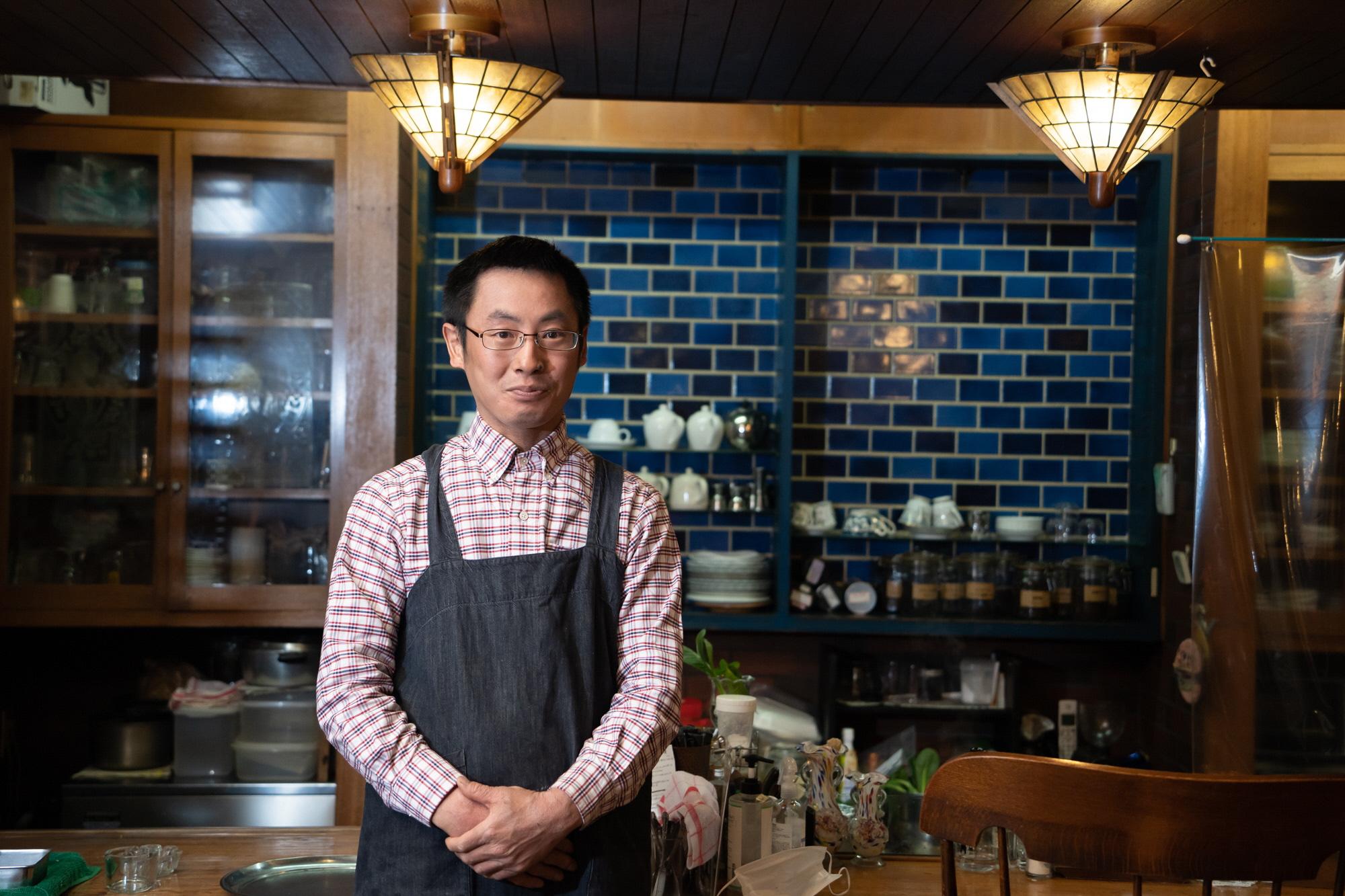 2代目店主の瀬川和駿さんの画像